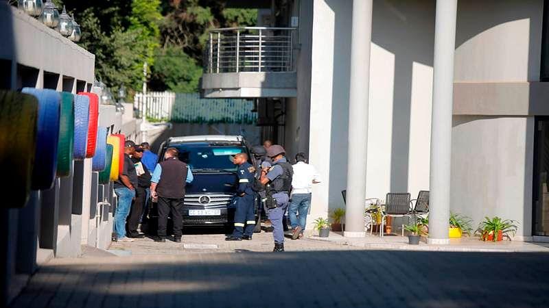 South Africa police raid house of President Jacob Zuma's allies in graft probe