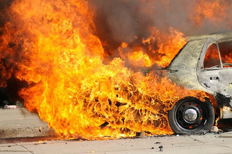 13 vehicles burnt in Ranchi over objectionable religious post