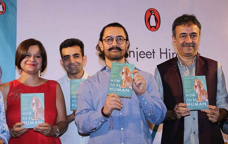 In pictures: Aamir Khan launches Manjeet Hirani's book 'How to be a Human'