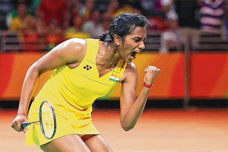 Sindhu wins thriller against Okuhara to enter semi-final