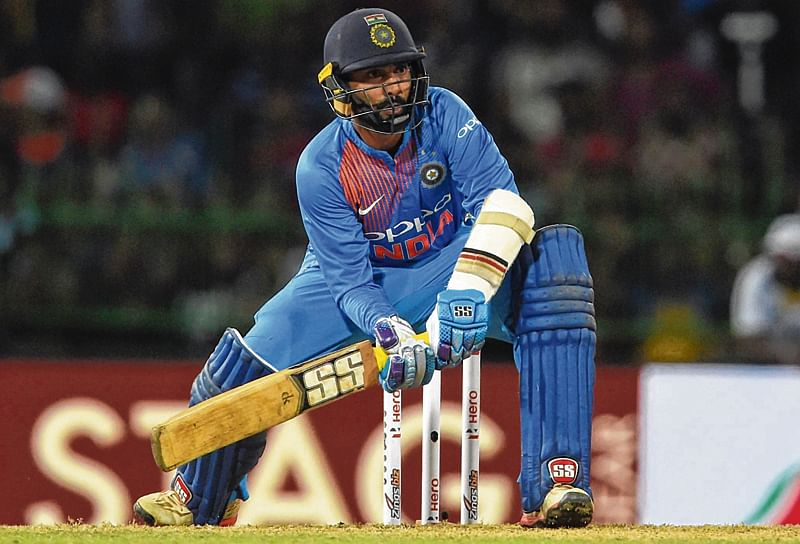 Whatever situation comes, Karthik's ready: Rohit