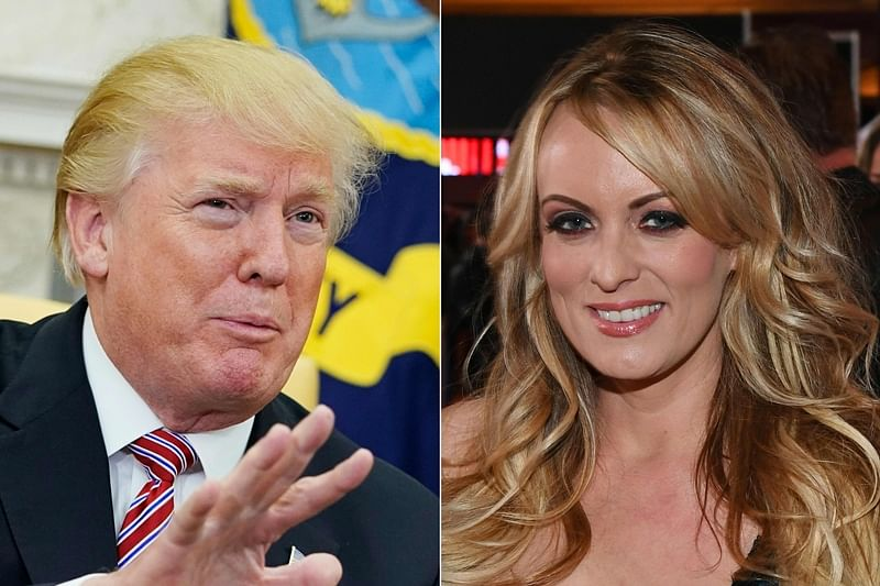 Stormy Daniels sues US President Donald Trump's lawyer for defamation