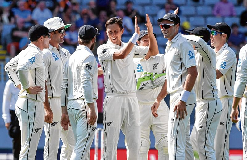 Williamson stars as England hits embarrassing low total