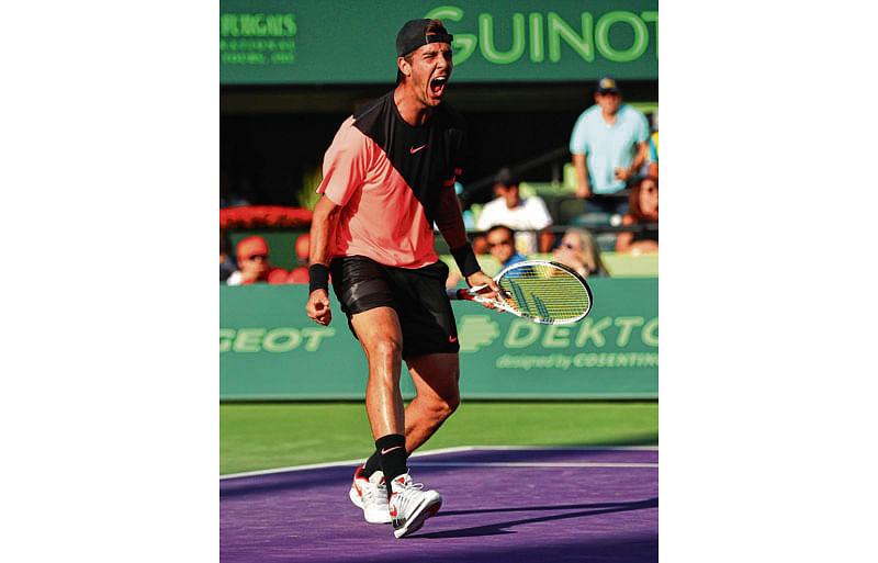 Federer to lose No. 1 rankingafter shock loss to Kokkinakis