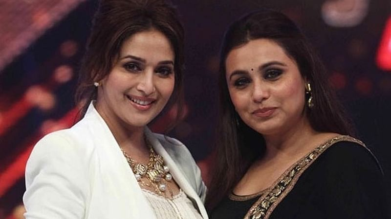 Hichki special screening: Madhuri Dixit is moved by Rani Mukerji's performance, says it is heart-warming film