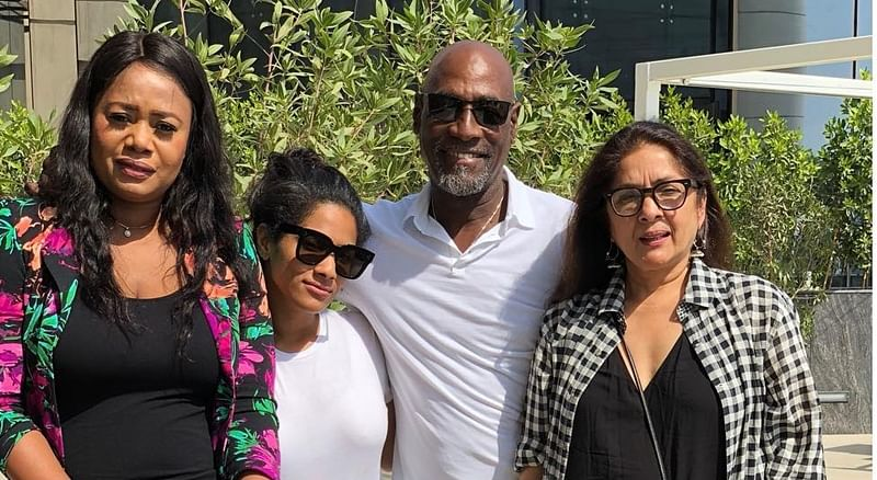 In Pictures: Viv Richards turns 66, celebrates birthday with Neena Gupta, daughter Masaba and PSL team