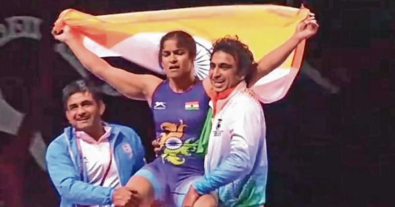 Navjot first Indian woman to wrestle gold at Asian C'ships