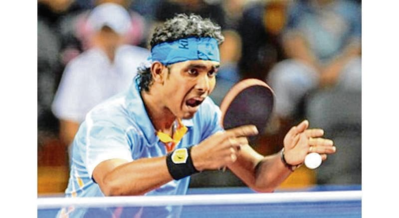 Sharath stuns world No.7 at Qatar Open