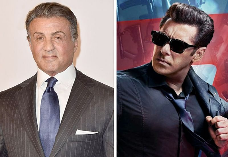 After goofing up, Sylvester Stallone finally wishes Salman Khan with a correct picture for Race 3