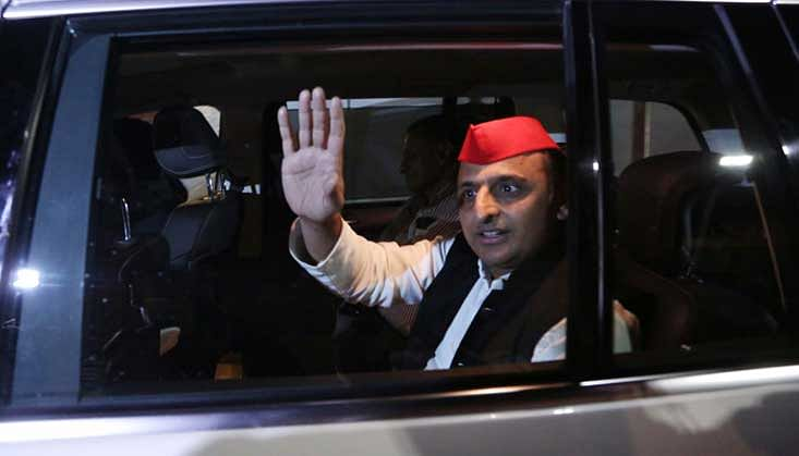 Uttar Pradesh Assembly adjourned amid protests by SP members over Akhilesh Yadav's Allahabad issue