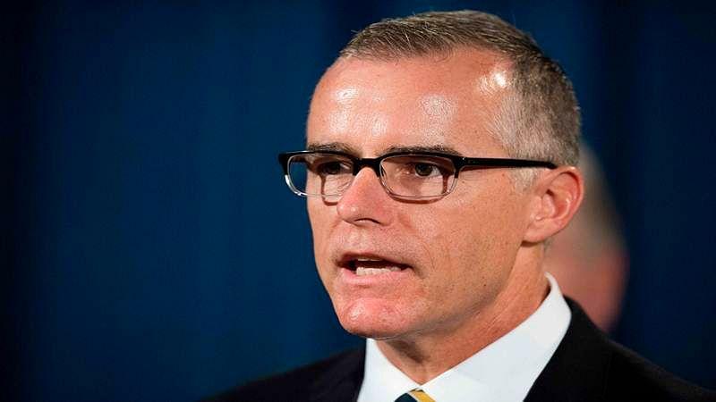 Ex-FBI deputy director Andrew McCabe got fired