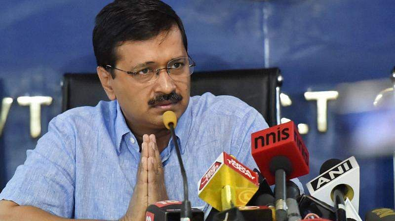 """Earlier congress government was in Ambani's pocket, now the Modi government is in Ambani's pocket"", says Arvind Kejriwal"