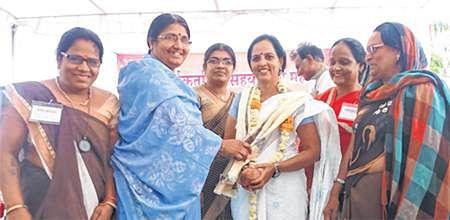 Ujjain: Asha workers, Sahayogini Mahasangh hold state level meet