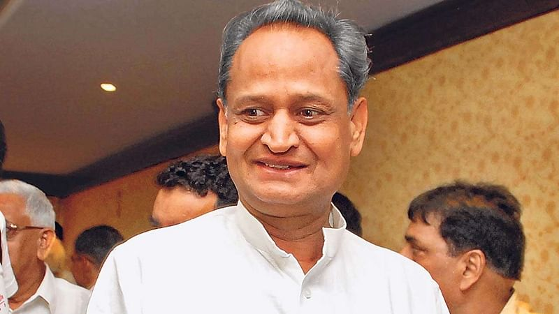 RSS should merge with BJP: Ashok Gehlot