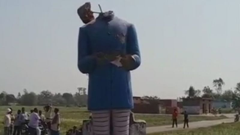 Statue Vandalism Continues: Now, BR Ambedkar's statue in Azamgarh damaged