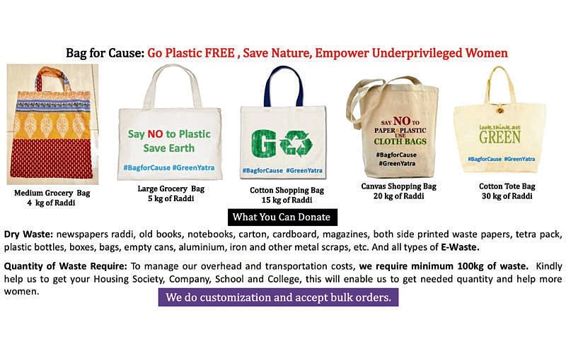 Get eco-friendly bags for 'banned' plastic ones here Inbox x here