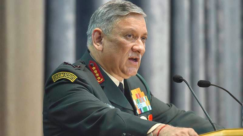 Army capable of taking action whenever told: Army chief Bipin Rawat