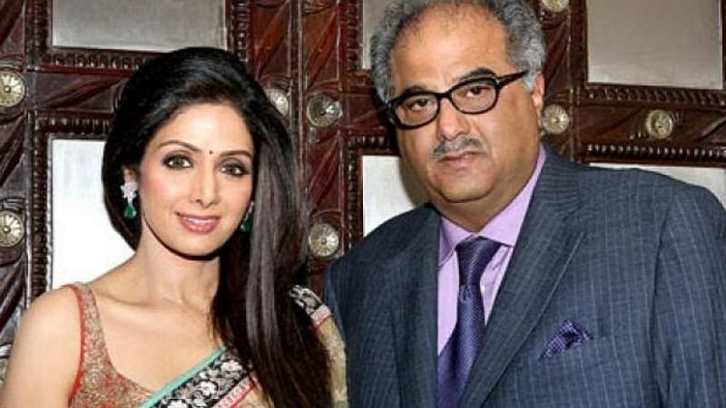 Has Boney Kapoor registered three titles with a vision to make a documentary on Sridevi?