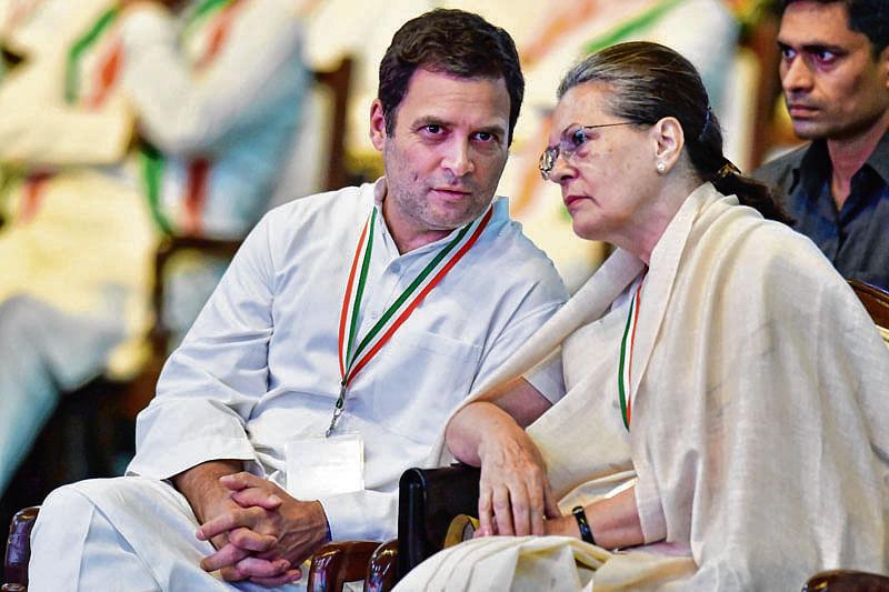 SONIA'S ANSWER TO BJP'S 'CONGress-MUKT BHARAT'