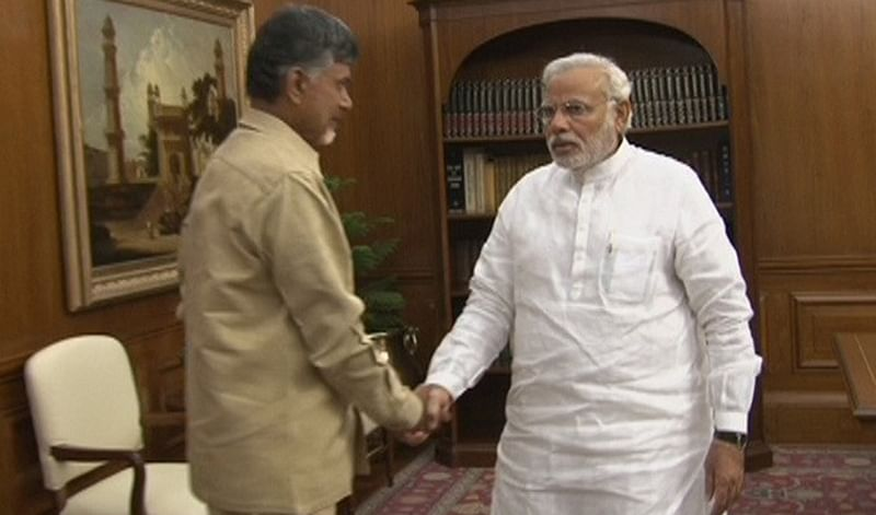 Andhra CM urges PM  Narendra Modi to allocate Rs 1200 crore