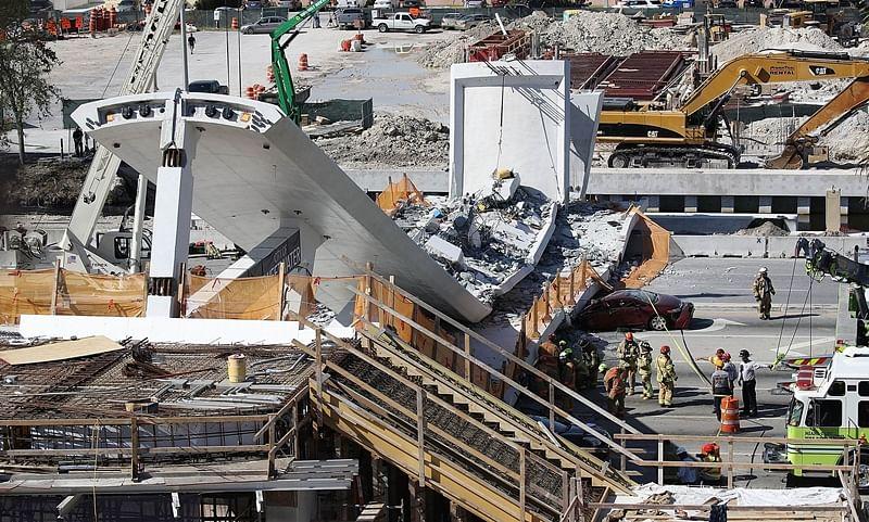 Miami Bridge collapse: Engineer had warned of cracks