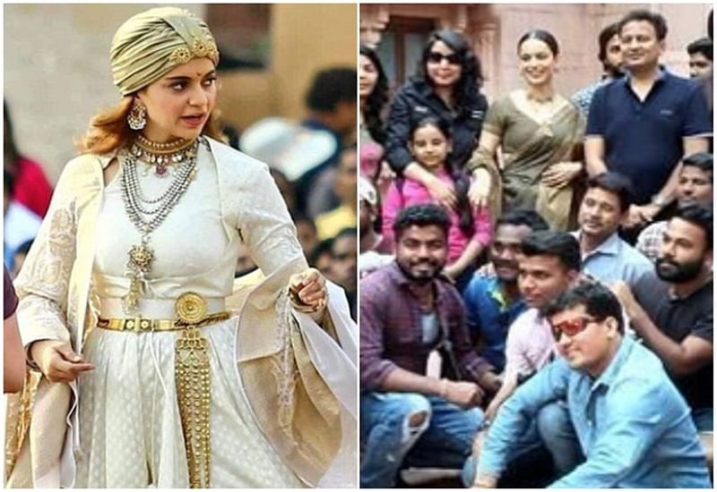 It's a wrap! Kangana Ranaut completes shooting of Manikarnika- The Queen of Jhansi