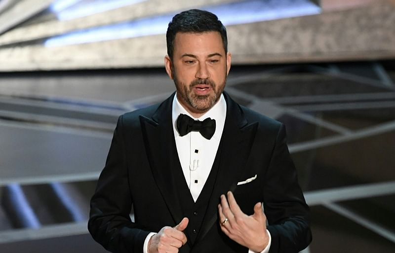 Jimmy Kimmel calls Donald Trump 'lowest rated President in history'