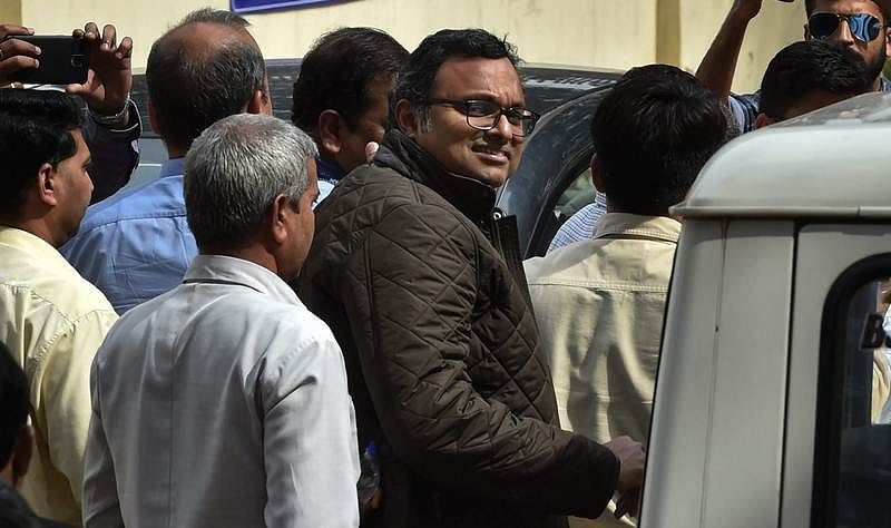 Aircel-Maxis case: Delhi court extends protection of P Chidambaram, son Karti from arrest till Nov 26