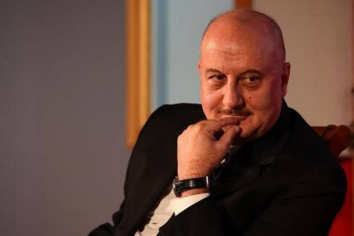 IIFA 2018: Anupam Kher dedicates award to struggling actors without godfathers