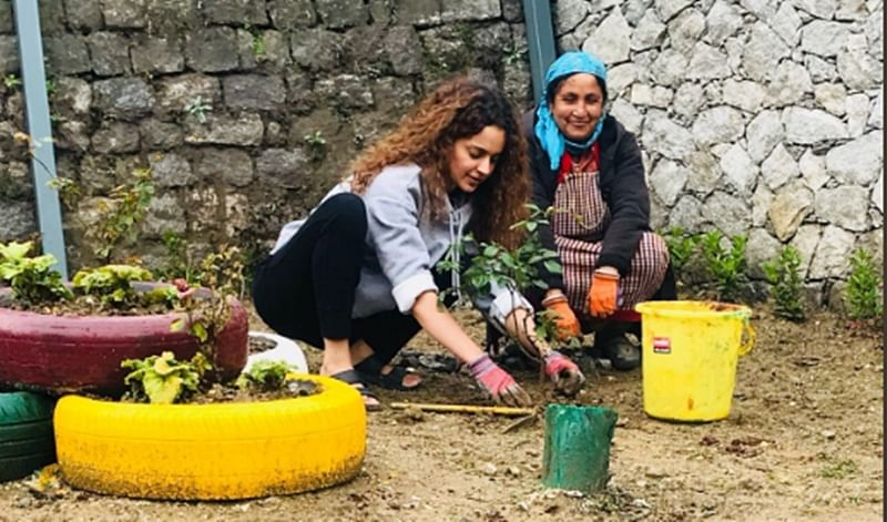 Happy BirthdayKangana Ranaut! Check out glimpses of environment-friendly birthday celebrations of Bollywood's 'Queen'