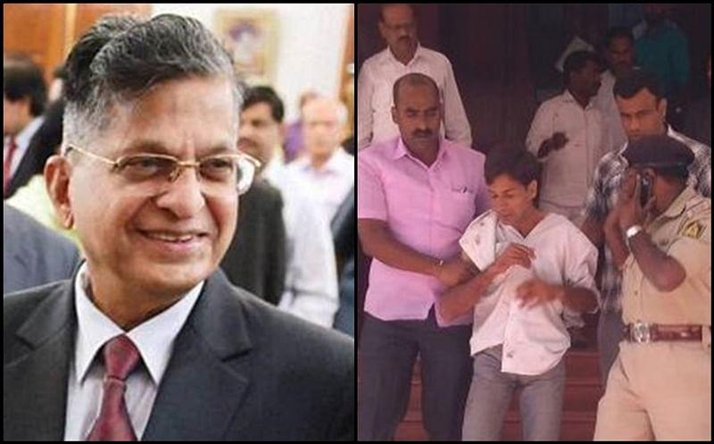 Karnataka Lokayukta Justice Vishwanath Shetty stabbed in Bengaluru office, attacker nabbed
