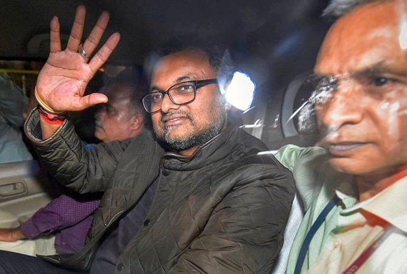 Aircel Maxis case: Court reserves order on Karti Chidambaram's plea for protection from arrest