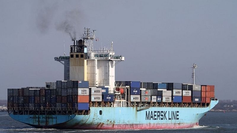 Maersk Line's container ship catches fire near Lakshadweep Islands, 4 crew members missing