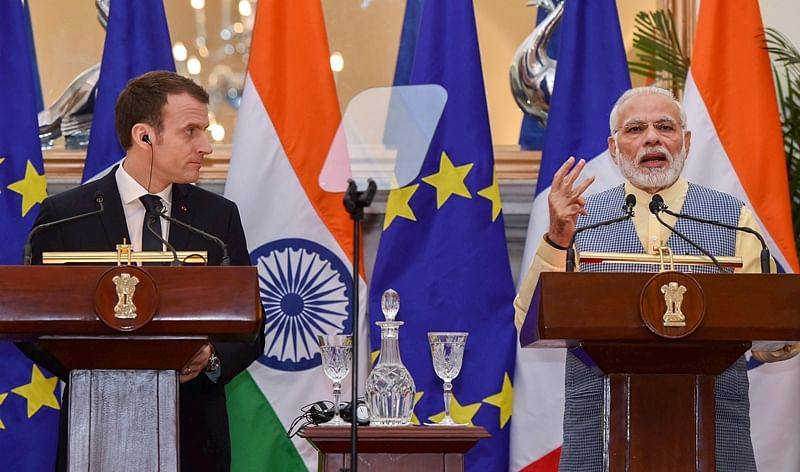 PM Modi says 'committed to Paris accord' in talks with Emmanuel Macron