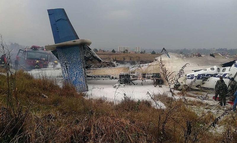 Nepal plane crash: 49 people dead, 23 injured after US-Bangla passenger plane crashes in Kathmandu