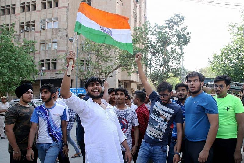 CBSE paper leak: After student's stage protest, section 144 imposed near Prakash Javadekar's residence