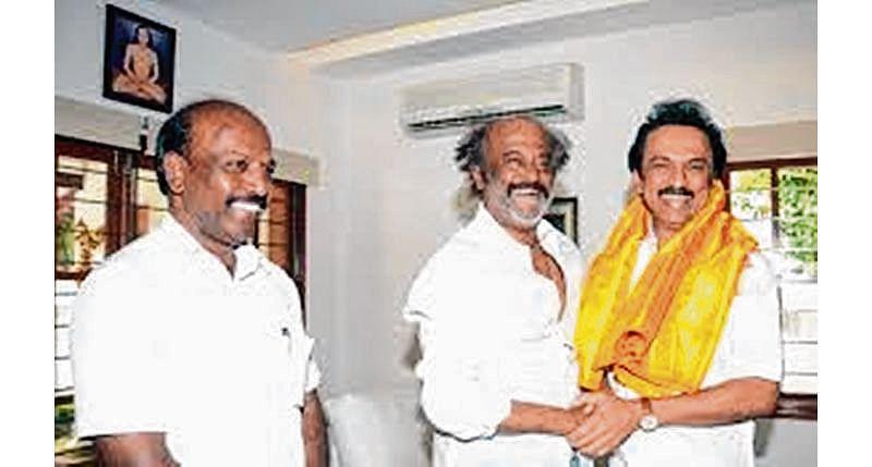 No leadership vacuum in TN, Stalin tells Rajini