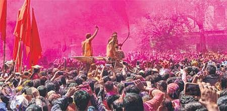 Indore: Rang Panchami: City soaks deep in hues of spring