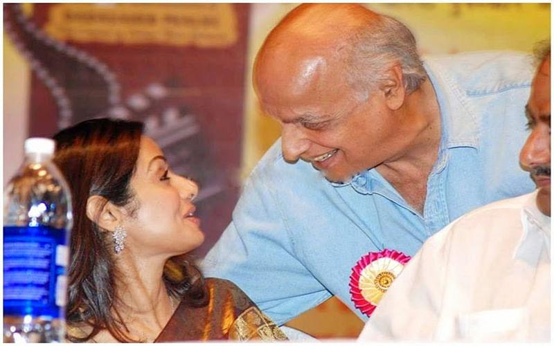 Ace filmmaker Mahesh Bhatt pays tribute to Sridevi