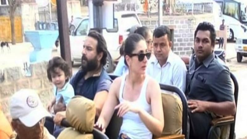 Check out another picture of Saif, Kareena and Taimur's Udaipur vacation goes viral