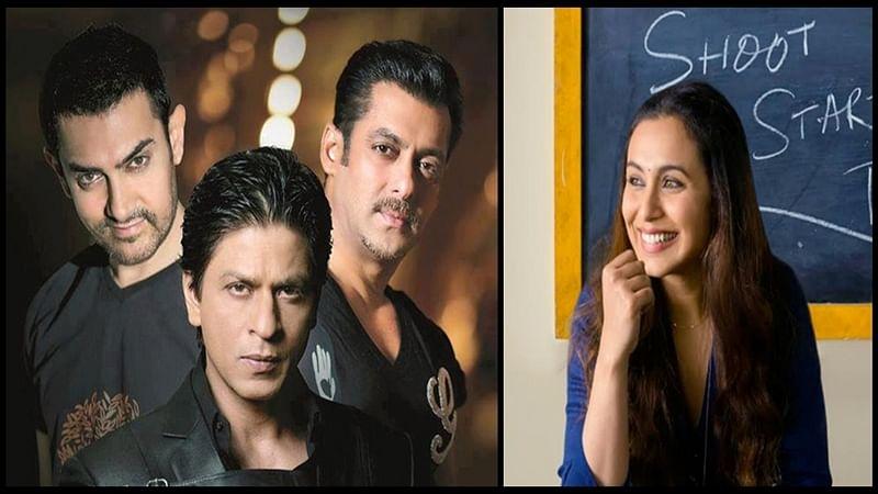 Hichki: Shah Rukh, Aamir and Salman come together to promote their dear friend Rani Mukerji's film