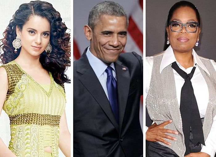 WOW! Kangana Ranaut to share stage with Michelle Obama and Oprah Winfrey