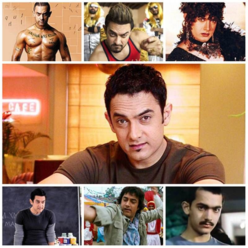 Aamir Khan Birthday: 10 path-breaking looks of the actor over the years
