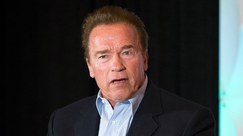 Shocking! Hollywood star Arnold Schwarzenegger attacked during event in South Africa, incident caught on camera