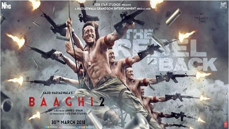 Box Office Collection: 'Baaghi 2' breaks Padmvaat's record; crosses Rs 85 crore in the opening week