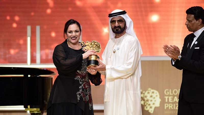 UK woman wins $1 mn global best teacher award in UAE