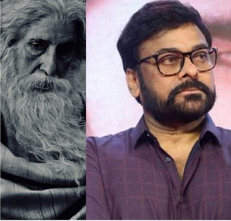 Amitabh Bachchan's look in Chiranjeevi's magnum opus 'Sye Raa Narasimha Reddy' is going viral