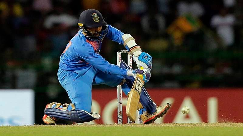 Nidahas Trophy: I have been practising these shots, says Dinesh Karthik
