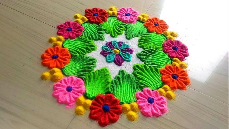 Gudi Padwa 2018: Easy to make rangoli ideas and why rangoli holds special importance on Gudi Padwa