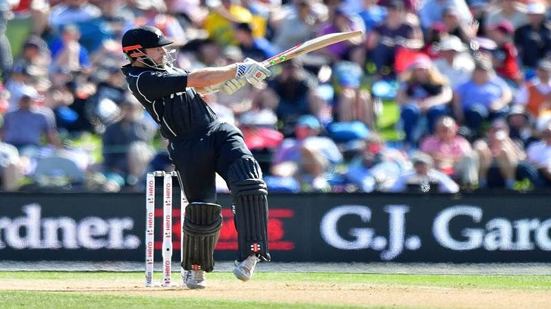 England vs New Zealand Christchurch ODI: NZ held to 223 despite Santner, Nicholls fifties